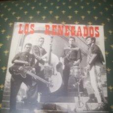 Discos de vinilo: LOS RENEGADOS.MIRANDO LA LUNA / ATURDIDO / DIME TU / ATRAPADO POR EL R'N'R.NOSE.NS-009-EP.1991.. Lote 287382478