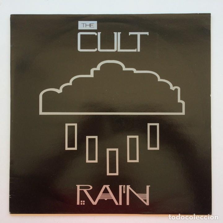 THE CULT – RAIN, UK 1985 BEGGARS BANQUET (Música - Discos de Vinilo - Maxi Singles - Punk - Hard Core)