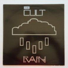 Discos de vinilo: THE CULT – RAIN, UK 1985 BEGGARS BANQUET. Lote 287382528