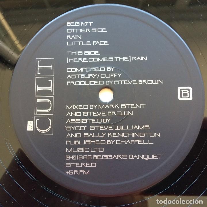 Discos de vinilo: The Cult – Rain, UK 1985 Beggars Banquet - Foto 3 - 287382528