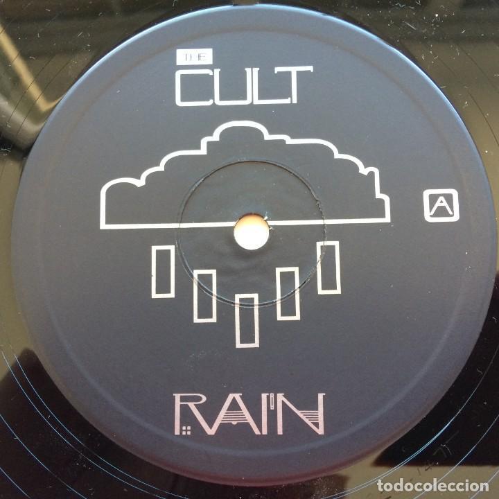 Discos de vinilo: The Cult – Rain, UK 1985 Beggars Banquet - Foto 4 - 287382528