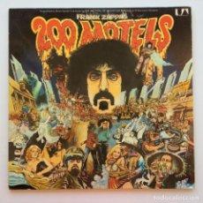 Discos de vinilo: FRANK ZAPPA – 200 MOTELS, 2 VINYLS GERMANY 1971 UNITED ARTISTS RECORDS. Lote 287384053