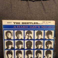 Discos de vinilo: RARE LP THE BEATLES A HARD DAY'S NIGHT FROM VENEZUELA,ORIGINAL, SOLP-7109. Lote 287384423