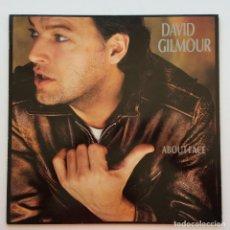 Discos de vinilo: DAVID GILMOUR – ABOUT FACE, EUROPE 1984 HARVEST. Lote 287387903