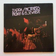 Discos de vinilo: ZAPPA / MOTHERS – ROXY & ELSEWHERE, 2 VINYLS GERMANY 1974 DISCREET. Lote 287391088