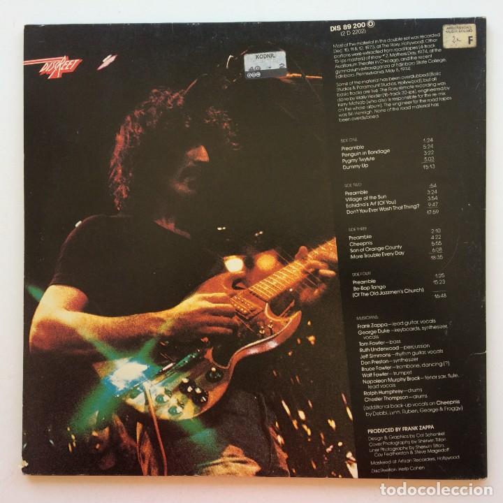 Discos de vinilo: Zappa / Mothers – Roxy & Elsewhere, 2 Vinyls Germany 1974 Discreet - Foto 2 - 287391088
