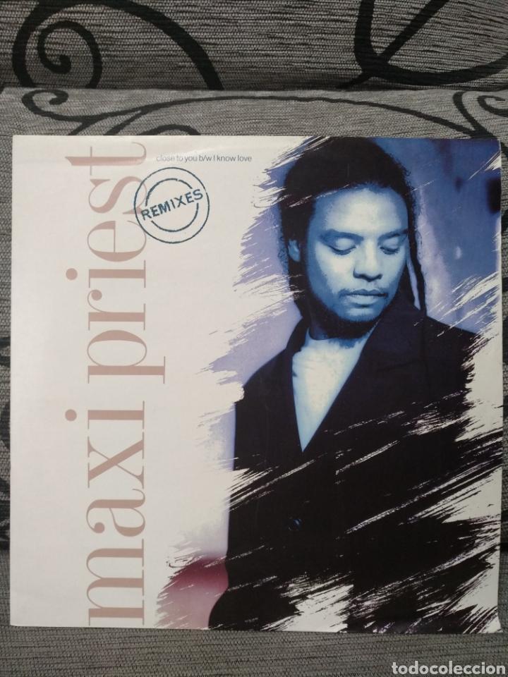 MAXI PRIEST - CLOSE YO YOU REMIX (Música - Discos de Vinilo - Maxi Singles - Rap / Hip Hop)