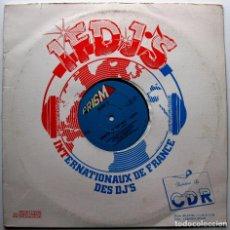 Discos de vinilo: VARIOUS (LAURIECE HUDSON - FEEL MY LOVE) - PRISM-X MEGAMIX - MAXI PRISM 1988 USA BPY. Lote 287420838