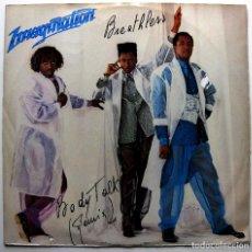 Discos de vinilo: IMAGINATION - BREATHLESS / BODY TALK (REMIX) - MAXI RED BUS RECORDS 1985 ITALIA BPY. Lote 287423433