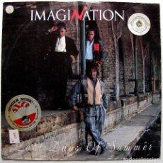 Discos de vinilo: IMAGINATION - LAST DAYS OF SUMMER - MAXI R & B RECORDS 1985 UK BPY. Lote 287425818