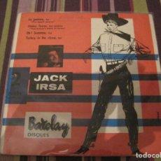 Discos de vinilo: EP JACK IRSA ET SES COWBOYS BARCLAY 72035 LA POMME FRANCE 1957. Lote 287437143