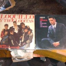 Disques de vinyle: VINILOS LOQUILLO Y LOS TROGLODITAS. Lote 287441603