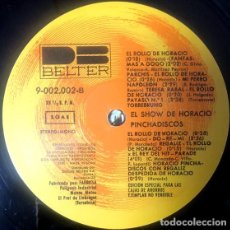 Discos de vinilo: EL SHOW DE HORACIO PINCHADISCOS. Lote 287444358