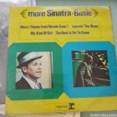 Discos de vinilo: FRANK SINATRA AND COUNT BASIE - MORE SINATRA-BASIE (REPRISE, UK, 1965). Lote 287444368