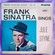 "Discos de vinilo: 1961 ANTIGUO VINILO 7"" 45 RPM EP, MONO. GRAN BRETAÑA. FRANK SINATRA SINGS JULE STYNE... Lote 287452253"