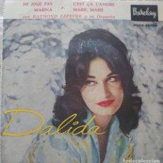 Discos de vinilo: DALIDA EP SELLO BARCLAY EDITADO EN ESPAÑA AÑO 1959. Lote 287456523