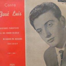 Discos de vinilo: JOSÉ LUIS EP SELLO PHILLIPS EDITADO EN ESPAÑA AÑO 1959. Lote 287456983