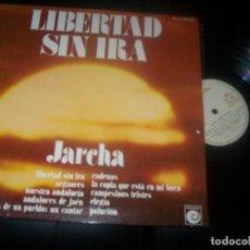 Disques de vinyle: JARCHA - LIBERTAD SIN IRA - LP DE NOVOLA-ZAFIRO NLX-1.070 - 1983 MUY BUEN ESTADO - GATEFOLD. Lote 287468583