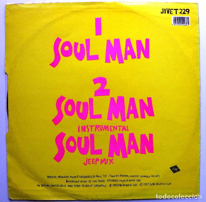 Discos de vinilo: Isidore Aka Izzy Ice - Soul Man - Maxi Jive 1989 UK BPY - Foto 2 - 287469228