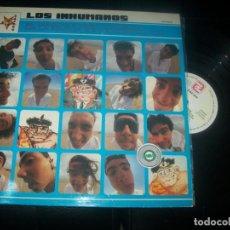 Disques de vinyle: LOS INHUMANOS - EL MAGICO PODER CURATIVO DE LA MUSICA DE LOS INHUMANOS - LP DE 1991 .- ZAFIRO. Lote 287469438