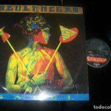 Discos de vinilo: AZUL Y NEGRO - BABEL -LP DE 1986 - MERCURY - BUEN DISCO - BUEN ESTADO - TECNO-POP ESPAÑOL.. Lote 287470973