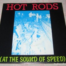 Discos de vinilo: EDDIE AND THE HOT RODS - AT THE SOUND OF SPEED - ISLAND1977 - UK - EX!. Lote 287472323