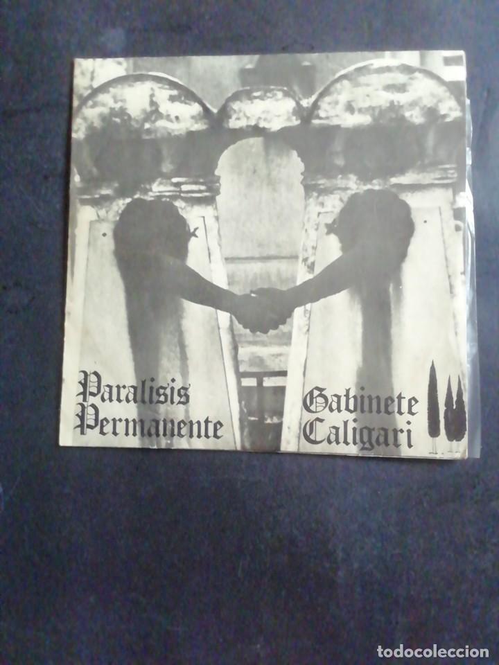 PARALISIS PERMANENTE / GABINETE CALIGARI. EP. 1981 (Música - Discos de Vinilo - EPs - Grupos Españoles de los 70 y 80)