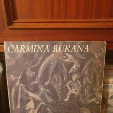 Discos de vinilo: CARMINA BURANA / EL TELAR DE LA LOCURA / PRODUCCIONES TWINS 1985. Lote 287478348