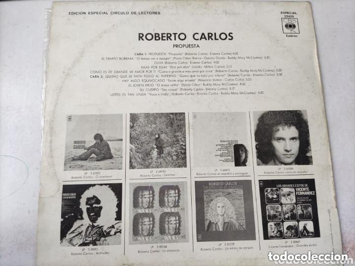 Discos de vinilo: VINILO ROBERTO CARLOS. PROPUESTA. - Foto 2 - 287483298