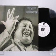 Discos de vinilo: DISCO LP DE VINILO - NUSRAT FATEH ALIKHAN / QAWWAL AND PARTY SHAHEN-SHAH - REALWORLD 1989 ALEMANIA. Lote 287489973