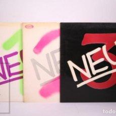 Discos de vinilo: CONJUNTO DE 3 LP'S DE VINILO - NEU! 1 2 3 - MOVIE PLAY - AÑOS 1973-1974-1975 - PORTADAS ABIERTAS. Lote 287492093