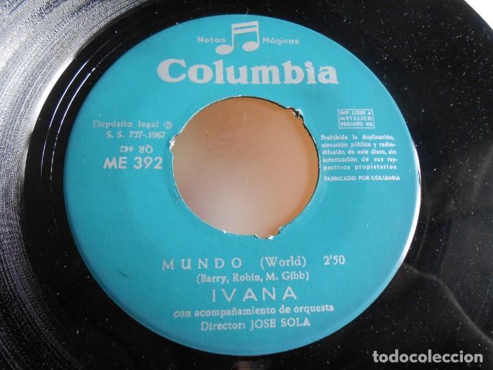 Discos de vinilo: IVANA, SG, JUDY CON DISFRAZ + 1, AÑO 1967 - Foto 4 - 287493398