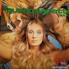 Disques de vinyle: FAUSTO PAPETTI - SAX 14 RACCOLTA. Lote 287497128