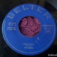"Discos de vinilo: THE BRISKS – WOOLY BULLY ,VINYL, 7"" SINGLE 1965 SPAIN 07-217. Lote 287550353"