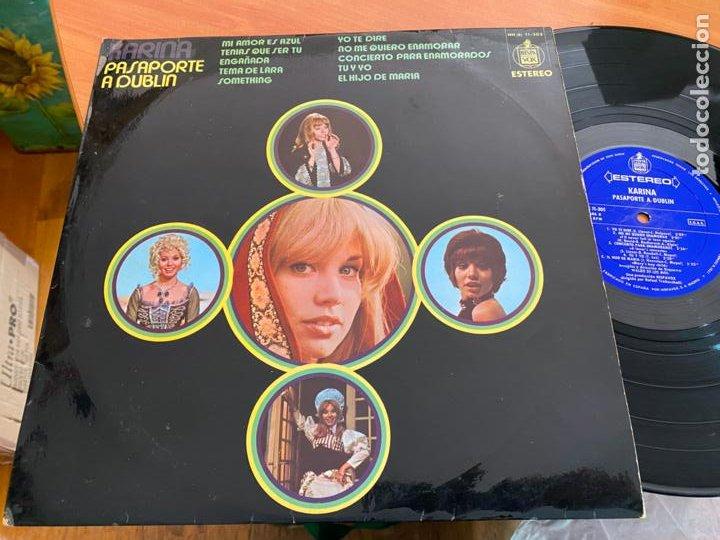KARINA (PASAPORTE A DUBLIN) LP ESPAÑA 1971 (B-33) (Música - Discos - LP Vinilo - Solistas Españoles de los 50 y 60)
