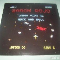 Discos de vinilo: BARÓN ROJO - LARGA VIDA AL ROCK AND ROLL (1981) .LP REEDICIÓN CHAPA / SONY 2015 NUEVO - PRECINTADO. Lote 287554293