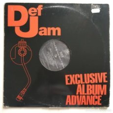 Discos de vinilo: DMX – FLESH OF MY FLESH, BLOOD OF MY BLOOD, 2 LPS PROMO, US 1998 DEF JAM RECORDINGS. Lote 287560113