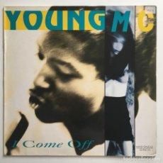 Discos de vinilo: YOUNG MC – I COME OFF, GERMANY 1990 ISLAND RECORDS. Lote 287560668