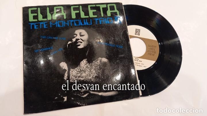 ELIA FLETA - TETE MONTOLIU TRIO - LUSH LIFE - EP CONCENTRIC 1967. CONSERVA ENCARTE (Música - Discos de Vinilo - EPs - Jazz, Jazz-Rock, Blues y R&B)