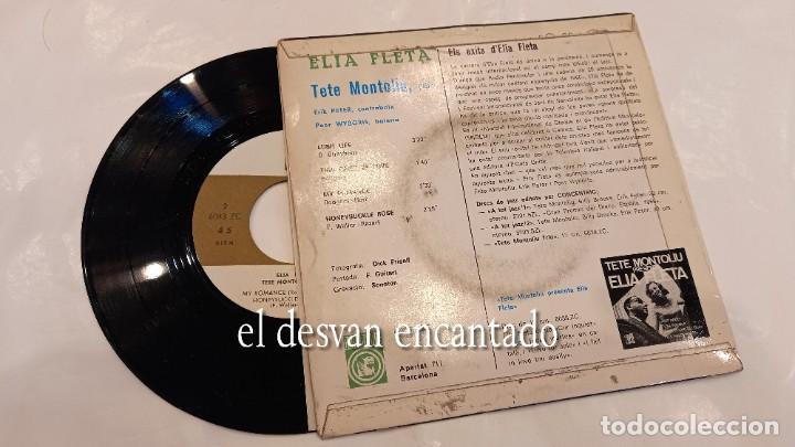 Discos de vinilo: ELIA FLETA - TETE MONTOLIU TRIO - LUSH LIFE - EP Concentric 1967. Conserva encarte - Foto 2 - 287561103
