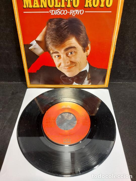 Discos de vinilo: MANOLITO ROYO / DISCO ROYO / SINGLE - AUVI-1982 / MBC. ***/*** - Foto 2 - 287564588