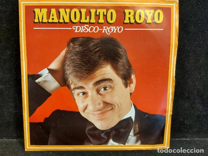 MANOLITO ROYO / DISCO ROYO / SINGLE - AUVI-1982 / MBC. ***/*** (Música - Discos - Singles Vinilo - Otros estilos)