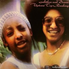 Discos de vinilo: ALTHEA AND DONNA LP UPTOWN TOP RANKING REEDICION VINILO. Lote 287565913