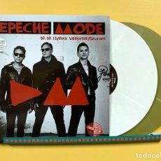 Disques de vinyle: DEPECHE MODE 2XLP ROCK WERCHTER 2013 DOBLE LP VINILO COLOR BLANCO Y ORO MUY RARO COLECCIONISTA. Lote 287570758