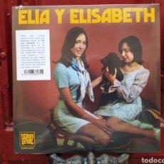 Discos de vinilo: ELIA Y ELISABETH*–FUE UNA LAGRIMA / CAE LA LLUVIA. SINGLE PRECINTADO.. Lote 287574358