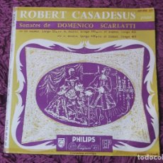 """Discos de vinilo: DOMENICO SCARLATTI, ROBERT CASADESUS ,VINYL, 7"""" EP 1957 FRANCE 409.006 AE. Lote 287576848"""