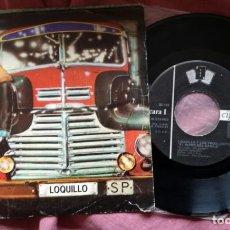 Discos de vinilo: LOQUILLO Y LOS TROGLODITAS - EL RITMO DEL GARAJE / QUIERO UN CAMION (1983). Lote 287578758