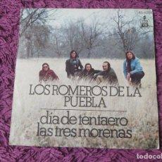 """Discos de vinilo: LOS ROMEROS DE LA PUEBLA - DIA DE TENTAERO ,VINYL, 7"""" SINGLE 1975 SPAIN 45-1176. Lote 287583123"""