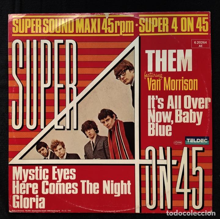 THEM - IT´S ALL OVER NOW, BABY BLUE (Música - Discos de Vinilo - Maxi Singles - Pop - Rock Internacional de los 50 y 60)