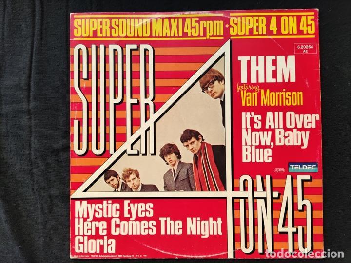 Discos de vinilo: THEM - IT´S ALL OVER NOW, BABY BLUE - Foto 2 - 287584788